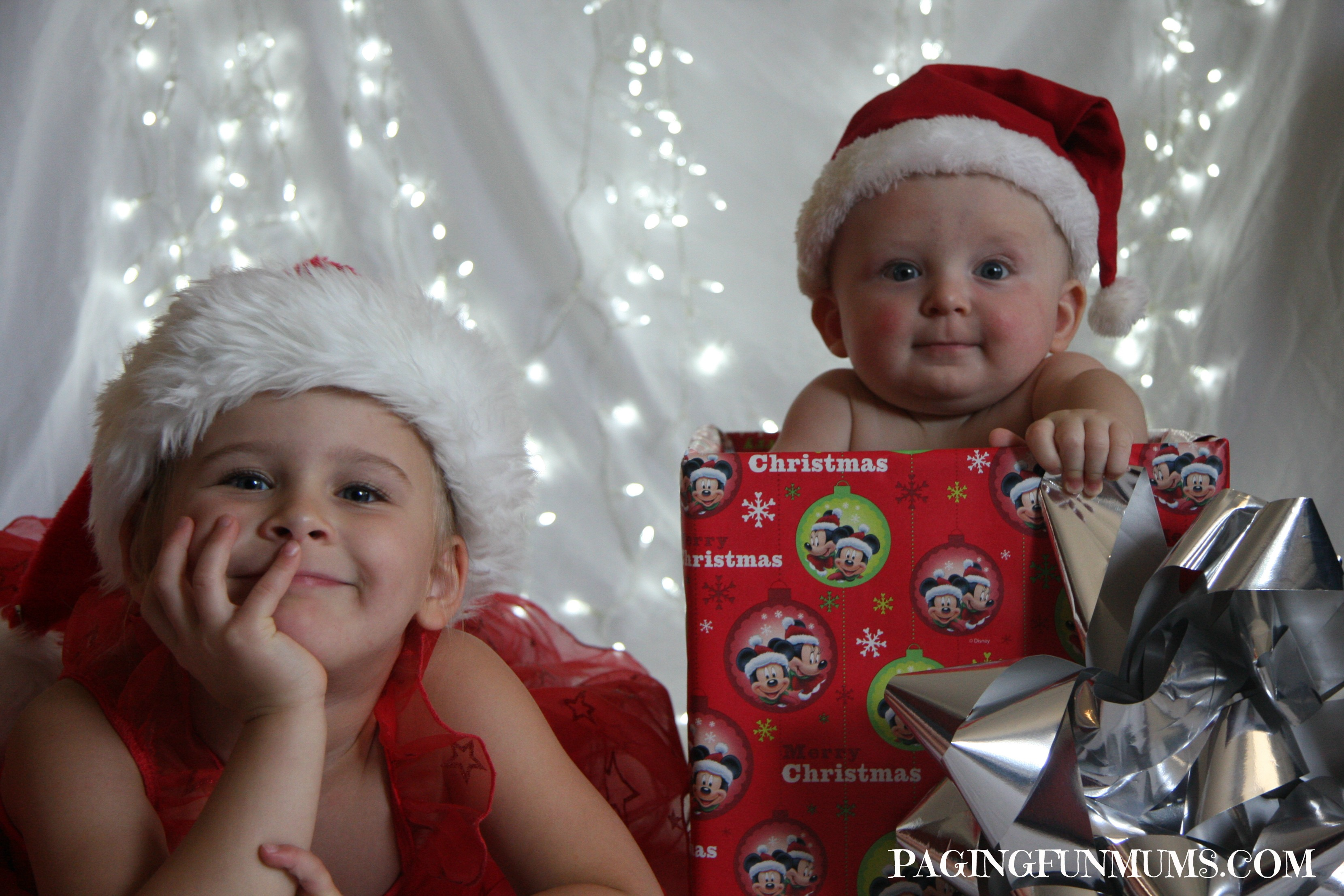 Fun Christmas Photos with Kids