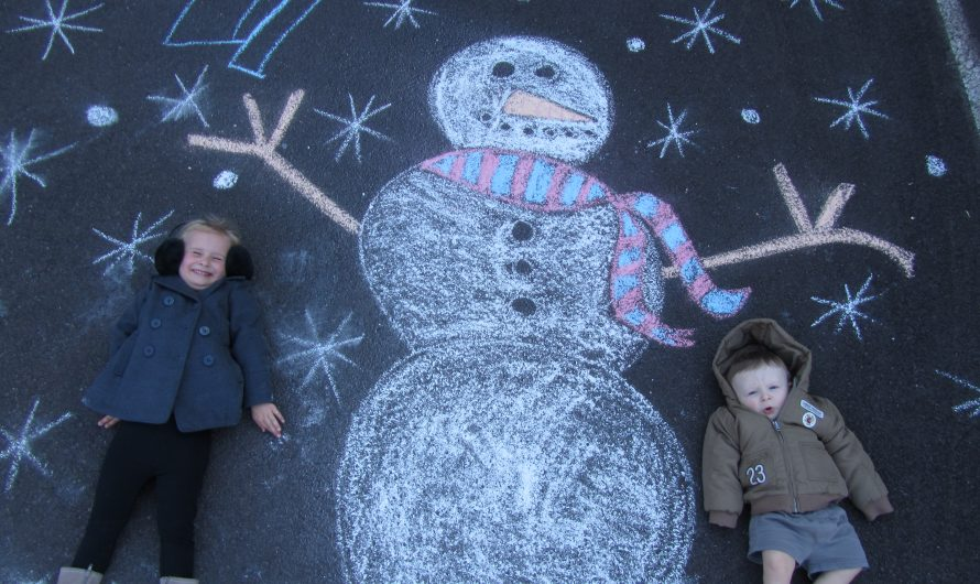 Chalk it Up! Snowman Style