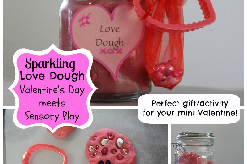 Sparkling 'Love Dough' with Bling