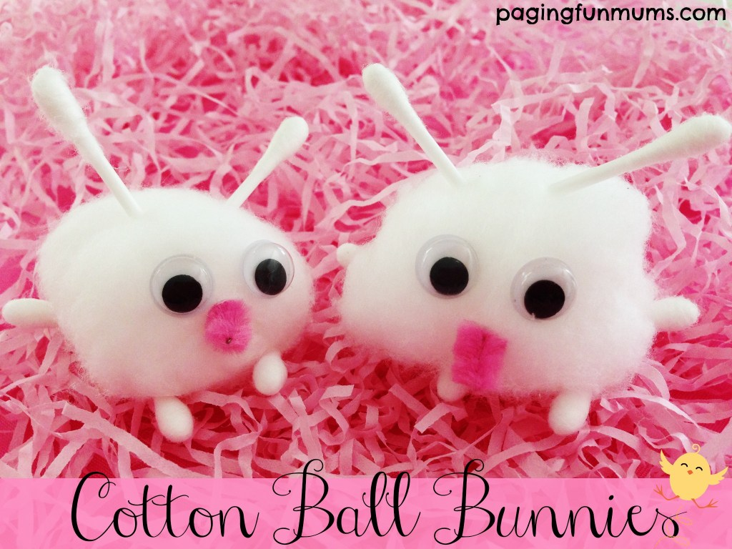 Cotton Ball Bunnies