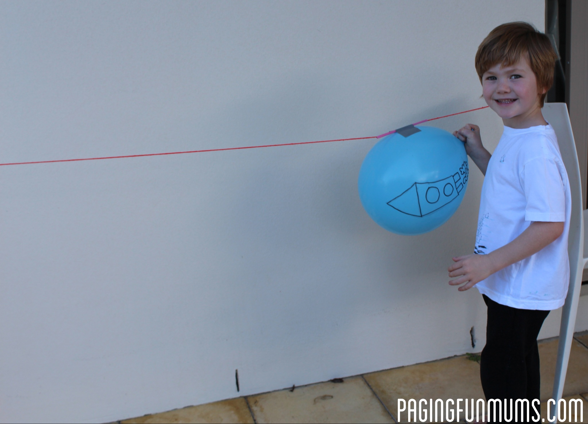 Ballon Rocket - So much Fun!