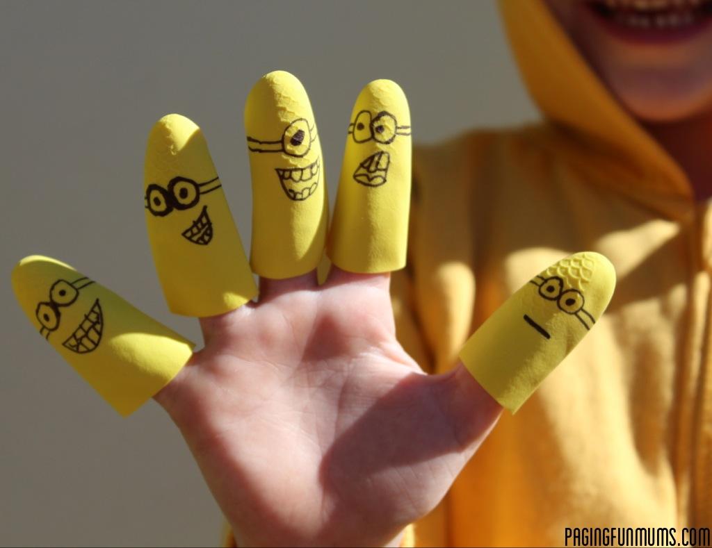Despicable Me 'Minion' Finger Puppets!