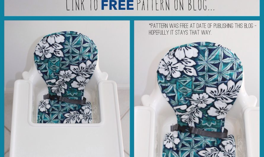 Ikea 'Antilop' High Chair Cover! – (Louise)