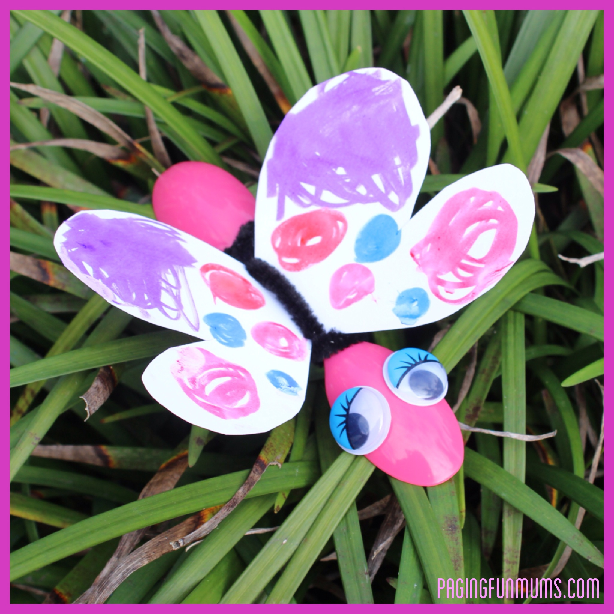 Butterfly Bug Craft.