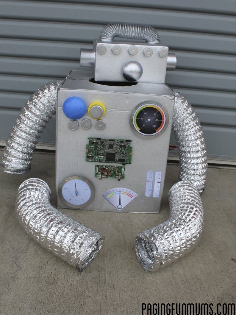 How To Make The Coolest Robot Costume Ever