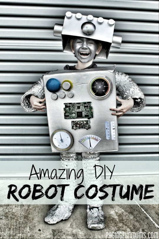 Amazing DIY Robot Costume