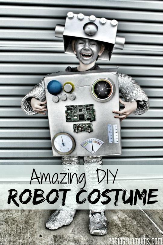 Amazing DIY Robot Costume