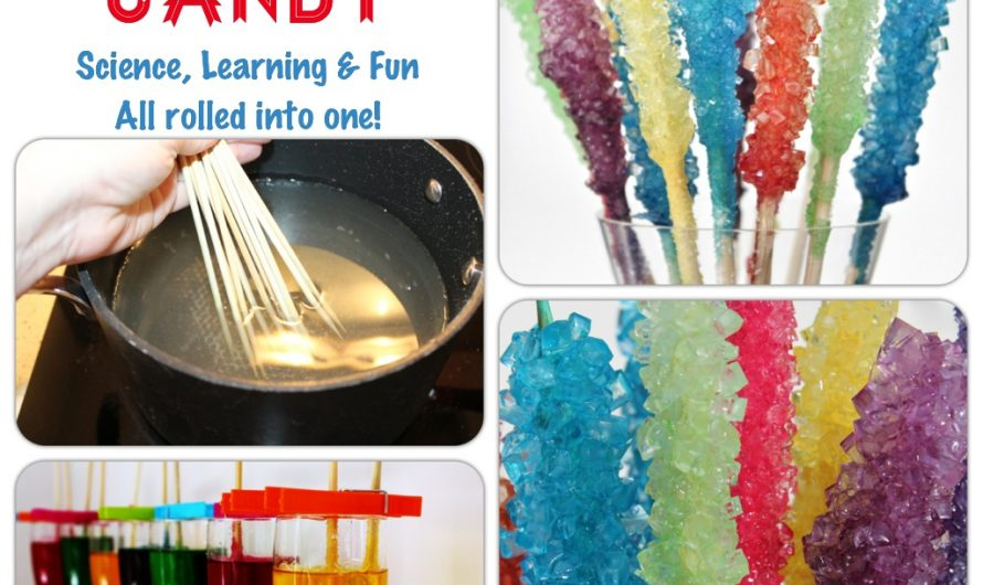 How to make your very own Rock Candy at home
