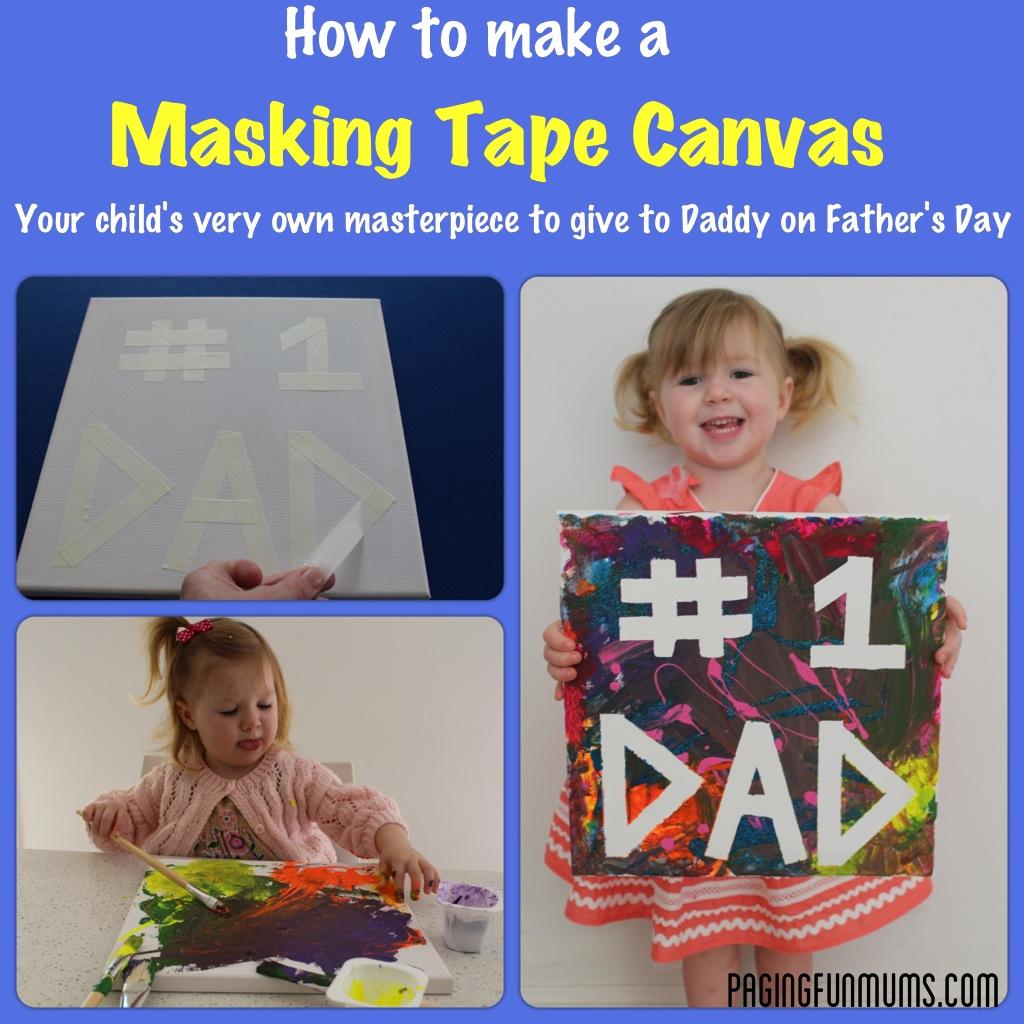 Masking Tape Canvas