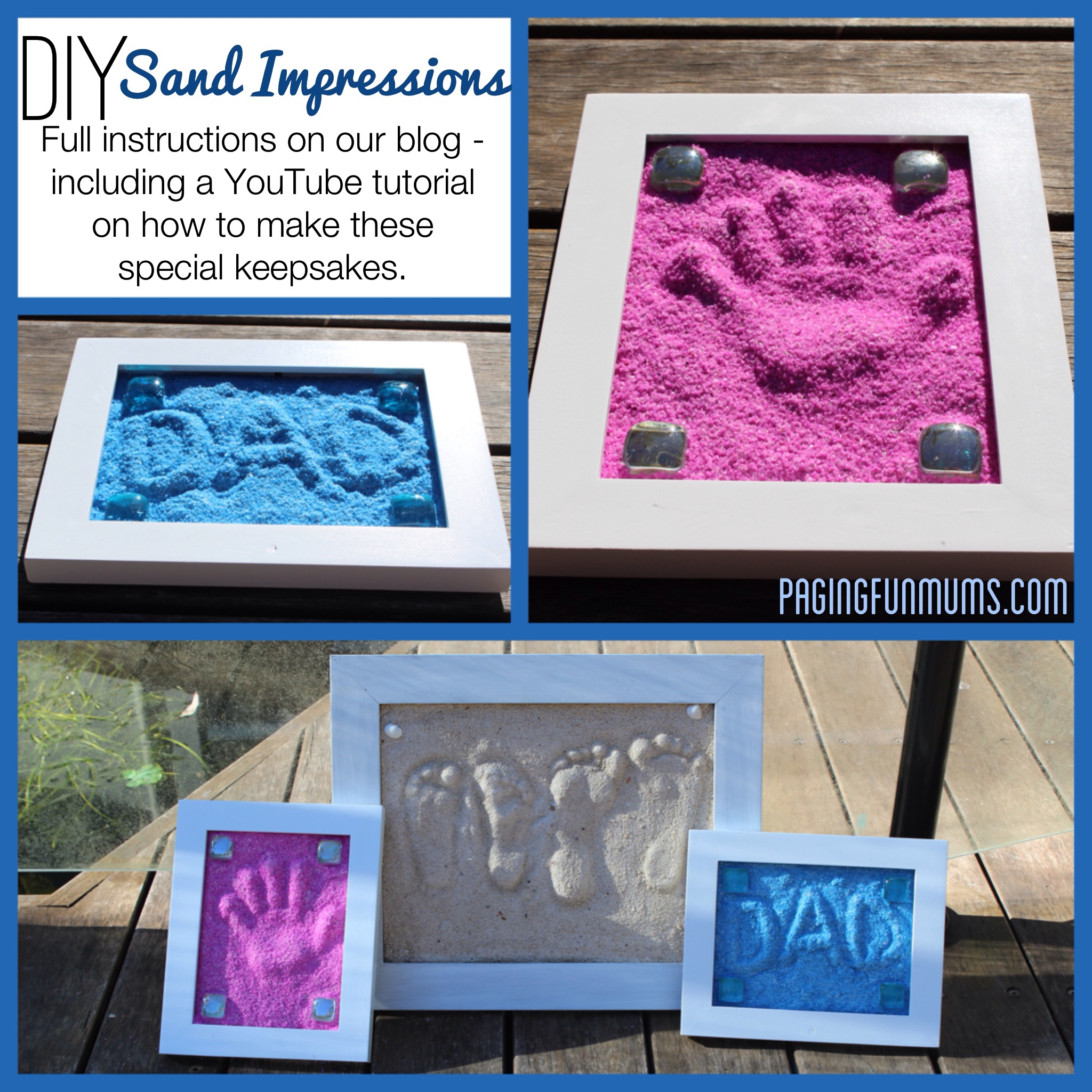 DIY Sand Imprints