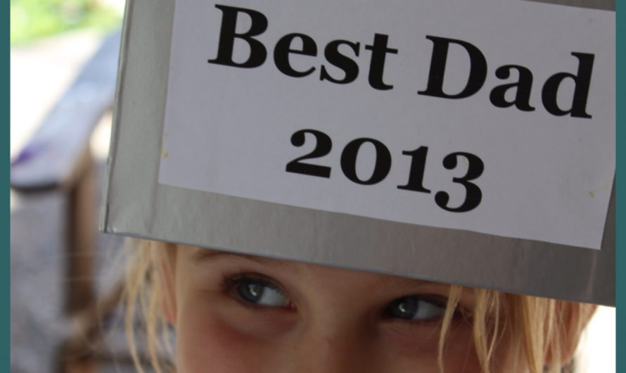 Best Dad Trophy – {Father's Day Craft}
