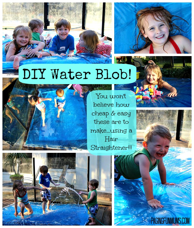 DIY Water Blob – Giant Sensory Water Bubble!