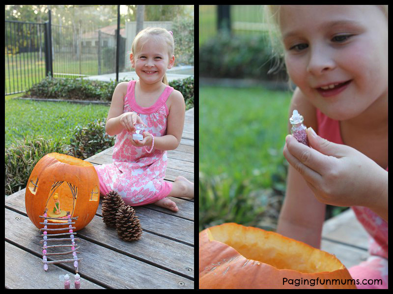 Fairy Halloween Pumpkin House