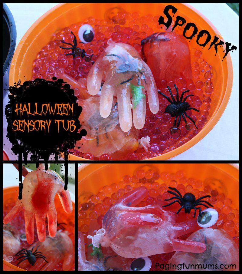 Halloween Sensory Tub