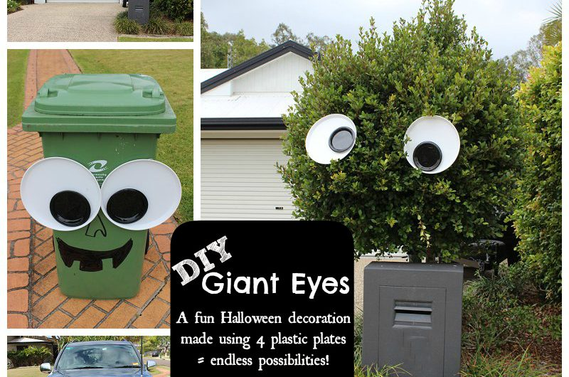 DIY Giant Googly Eye Decoration