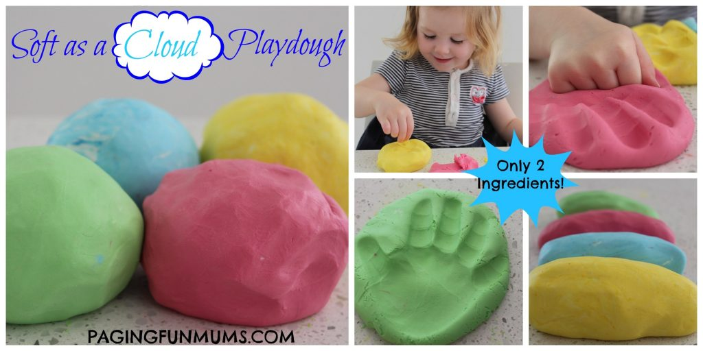 Soft as a Cloud...Playdough 2-1