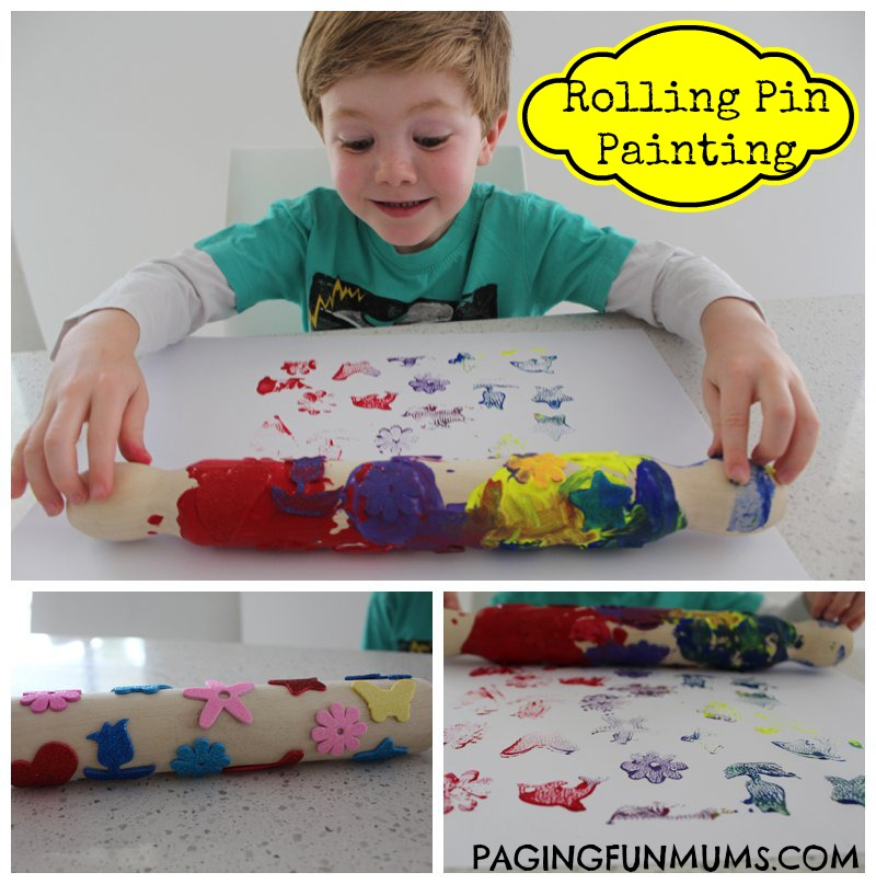 Rolling Pin Painting