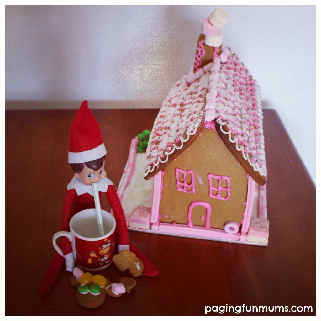 Elf on a Shelf - Gingerbread House