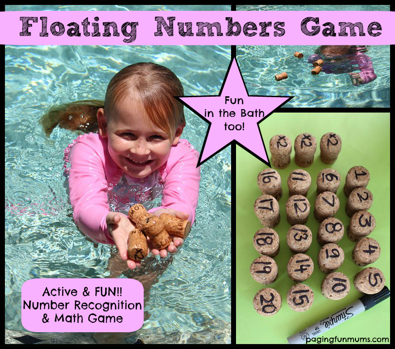 Floating Numbers - a FUN Number Recognition & Math Game - Paging Fun