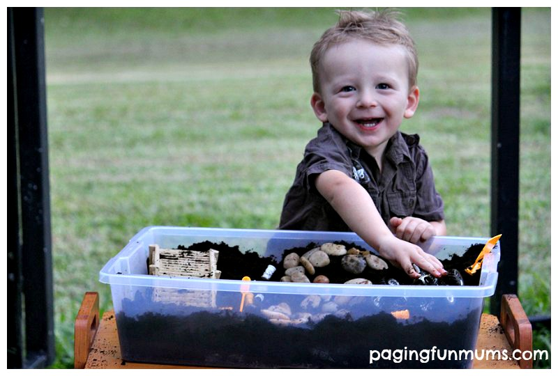 Monster Truck Sensory Play Ideas