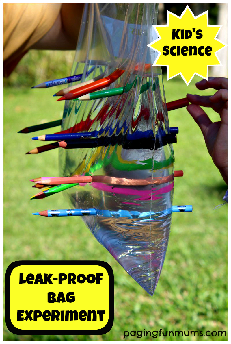 Leak-Proof Bag – Kid's Science Experiment