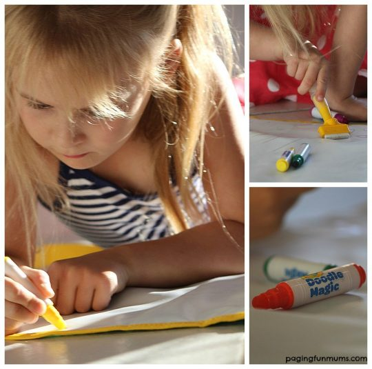Crayola Magic Doodle Mat Review