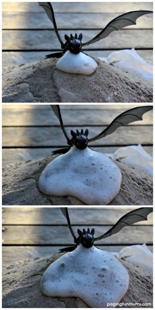 How To Train your Dragon Experiment