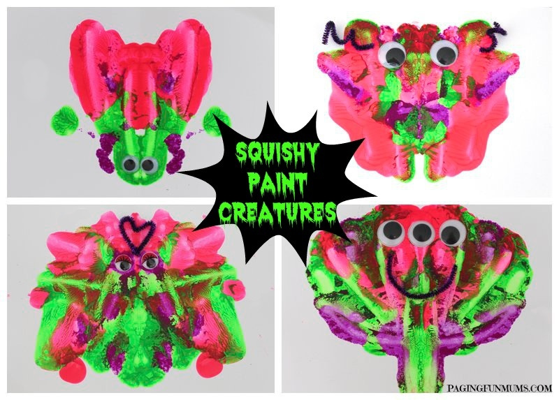 Squishy-Paint-Creatures