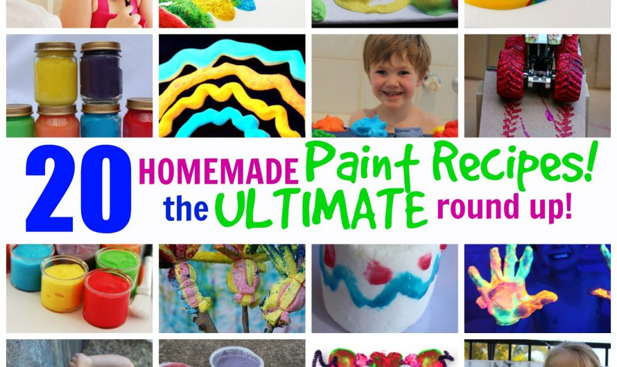 20 Homemade Paint Ideas – The ULTIMATE Round Up