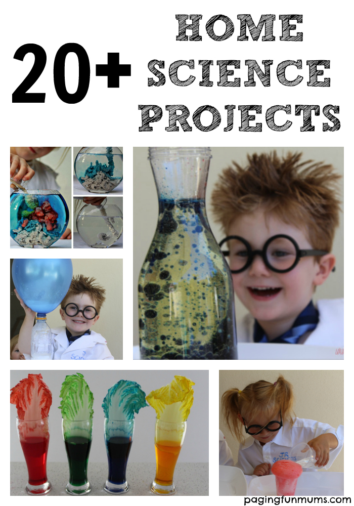 Home science research projects