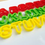 Playdough Alphabet Cutters