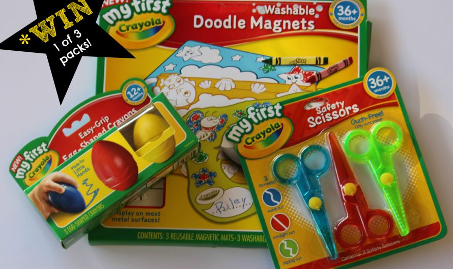 My First Crayola Range – Perfect for beginner learners