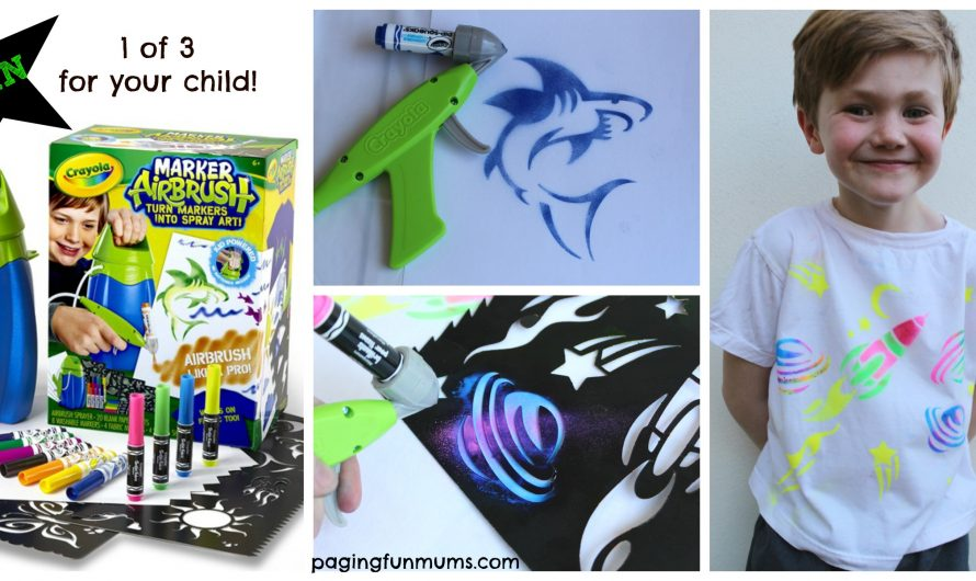 Crayola Marker Airbrush…turning markers into Spray Art