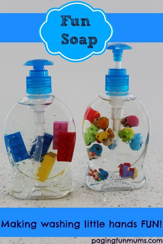 Fun Soap - making washing little hands FUN