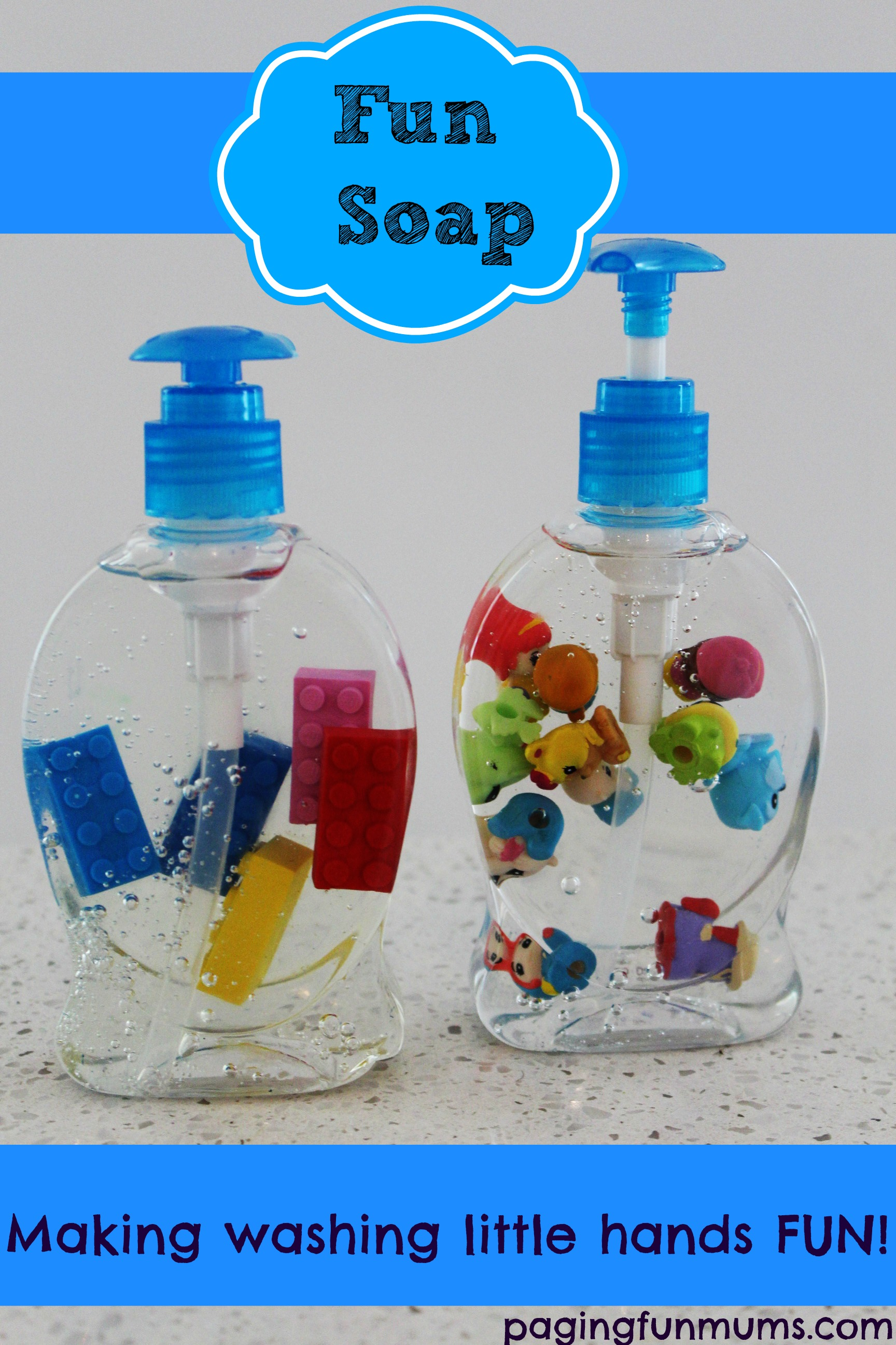 Fun Soap – making washing little hands FUN