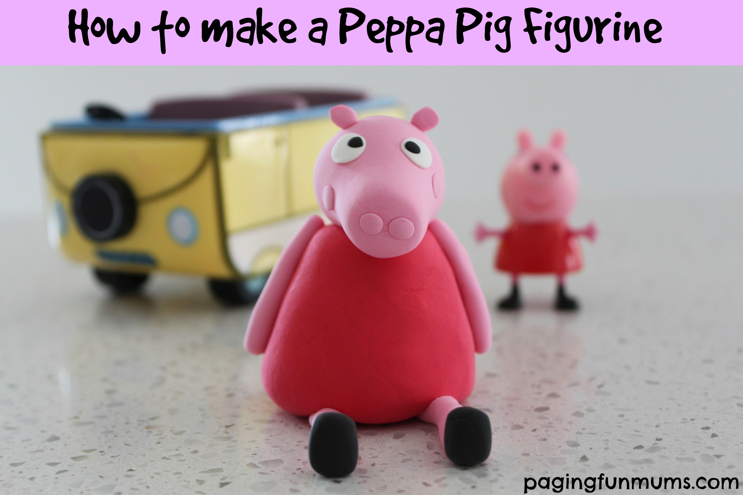 How to make a Peppa Pig Figurine