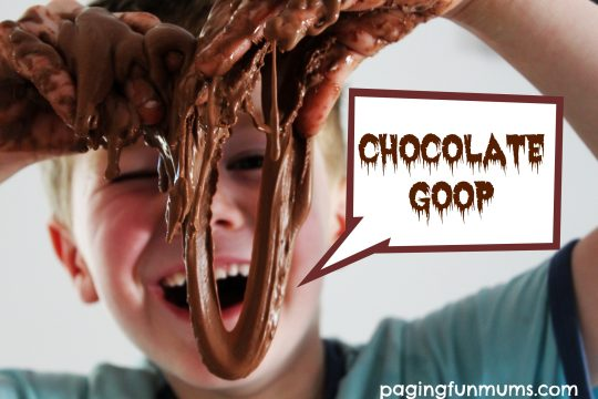 3 ingredient Chocolate Goop