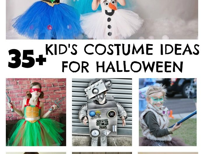 35+ Kid's Costume Ideas for Halloween