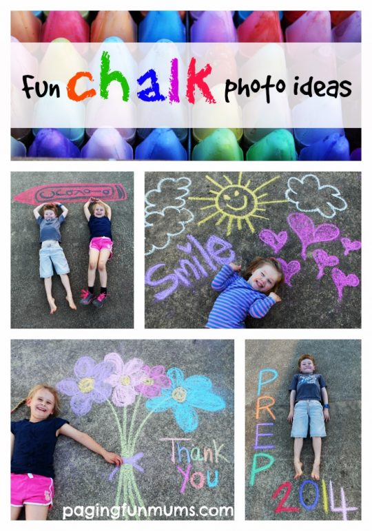 Fun Chalk Photo Ideas