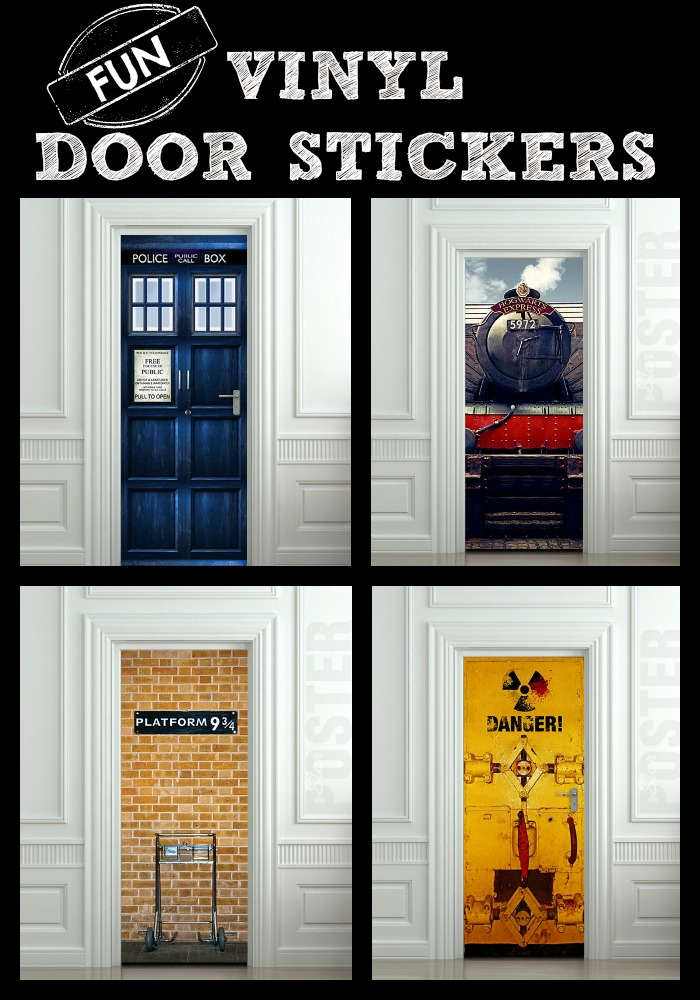 Amazing Kid's Bedroom Door Stickers