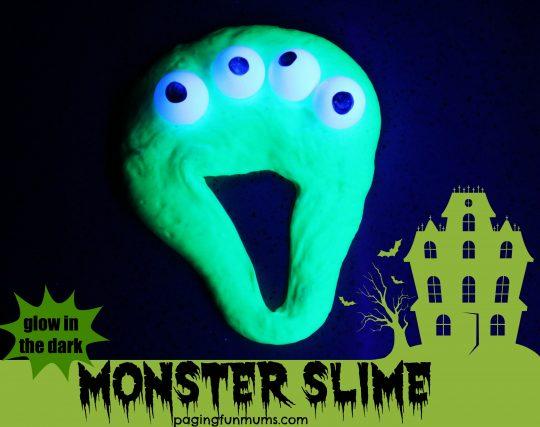 Monster Slime Halloween