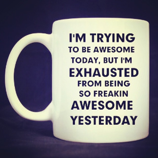 Totally exhausted! ? #funny #laugh #humour Jenni x
