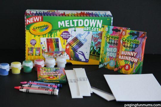 Meldown Crayola Crayon Set