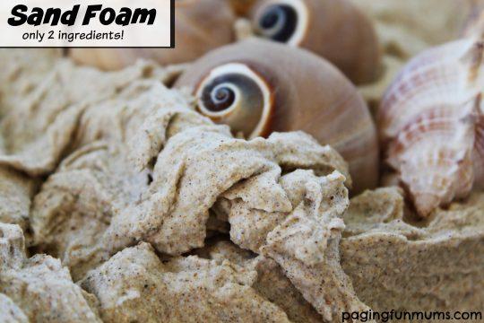 Sensory Sand Foam