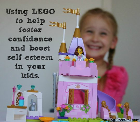 Using LEGO to helo foster confidence and boost self-esteem in your kids.