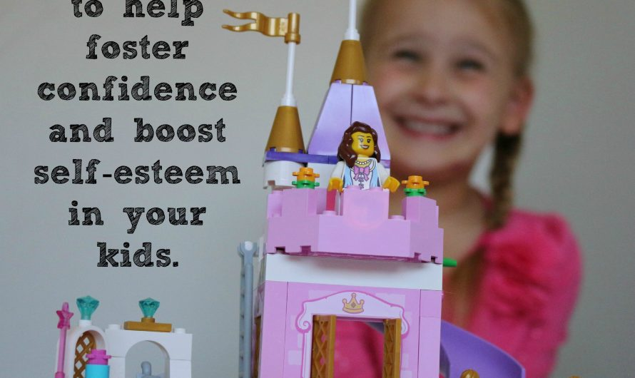 Using LEGO Bricks to Help Foster Confidence and Build Self-Esteem