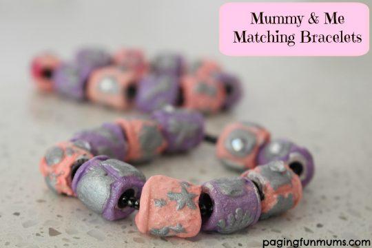 Mummy & Me Matching Bracelets