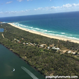 Birds Eye View of the Gold Coast
