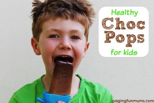 Healthy Choc Pops