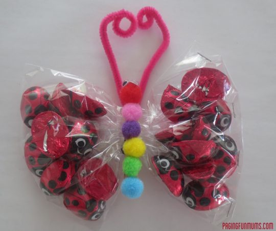 Cute Butterfly Craft - Fun party favour!